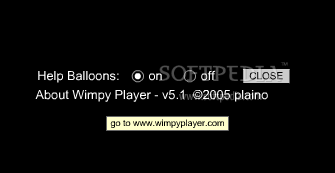 Wimpy MP3 Player screenshot 2