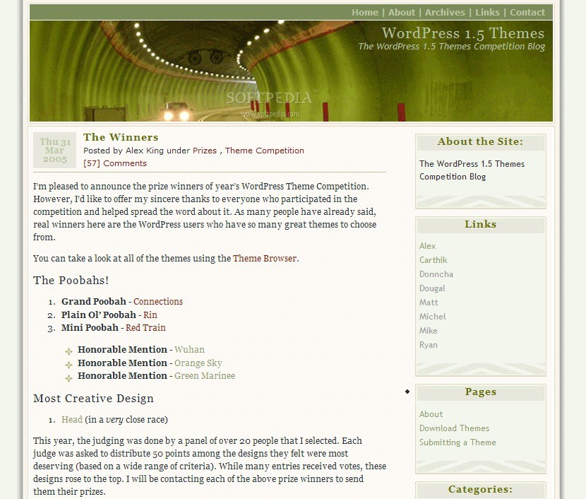 WordPress screenshot 2