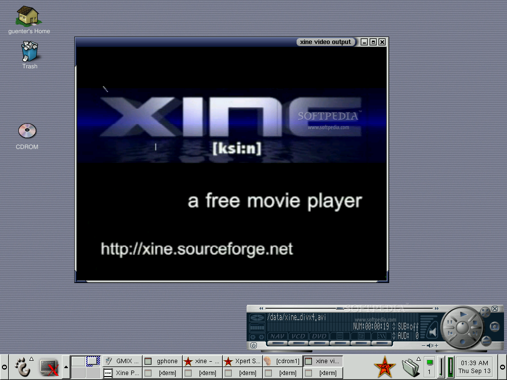 Xine screenshot 2