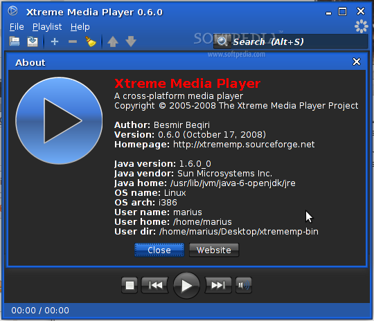 Download Xtreme Media Player Linux 0 6 0