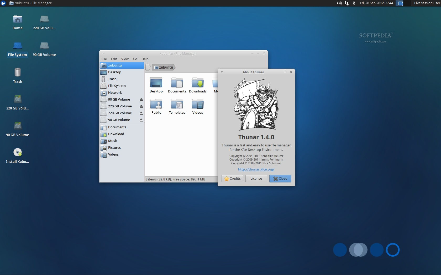 Quetzal Xubuntu - scree...