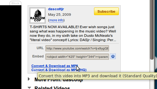 YouTube to MP3 screenshot 1