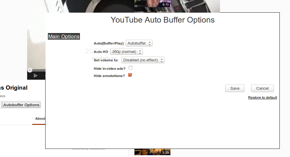 Youtube Auto HD screenshot 1