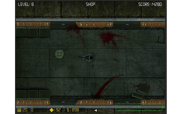 Zombie Train screenshot 1