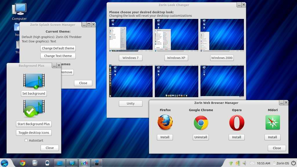 Zorin OS 6 screenshot 1