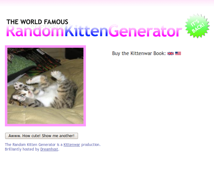 about:kittens screenshot 2
