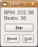 bpmcounter screenshot 3