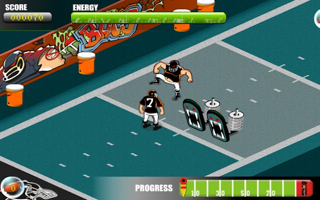 football hinderniss screenshot 1