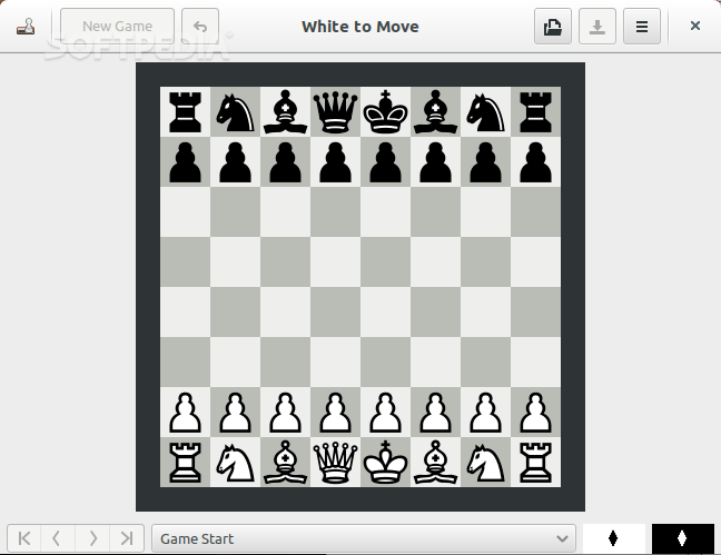 gnome-chess screenshot 1