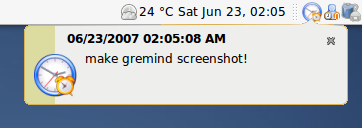 gremind screenshot 2