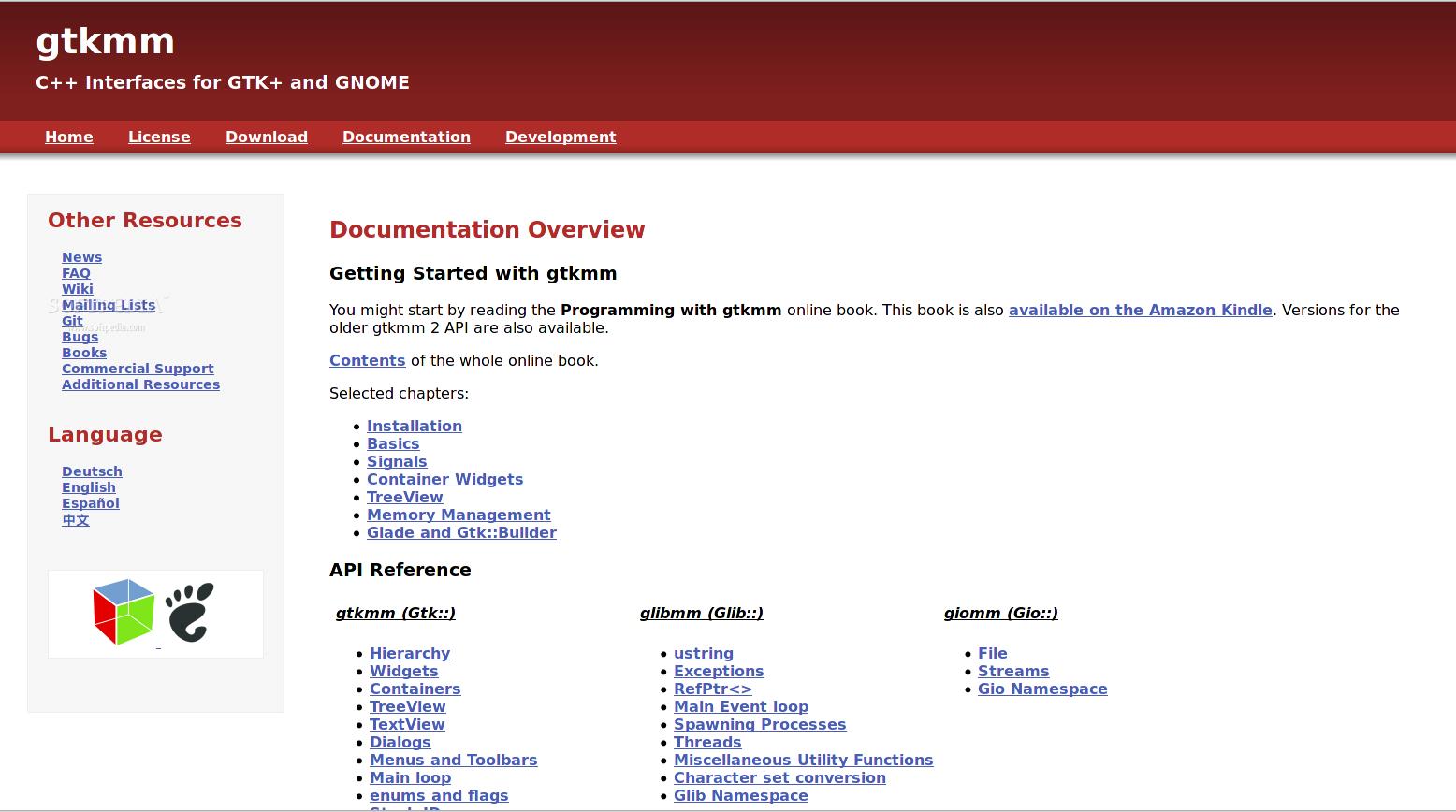 Download gtkmm-documentation Linux 3 24 0