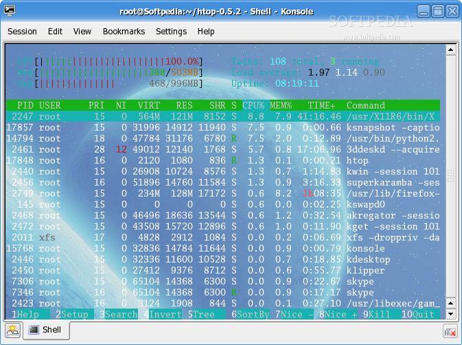 Download Htop Linux 2.2.0