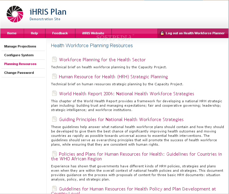 iHRIS Plan screenshot 3