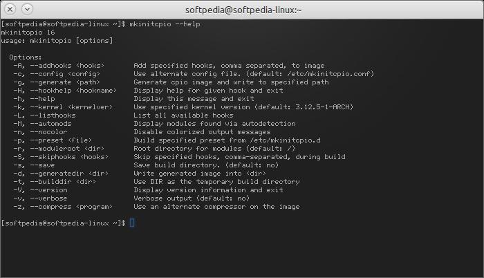 Download mkinitcpio Linux 18