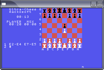msx-emul screenshot 4