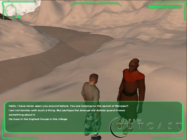 open Outcast: The Hidden Gate screenshot 2