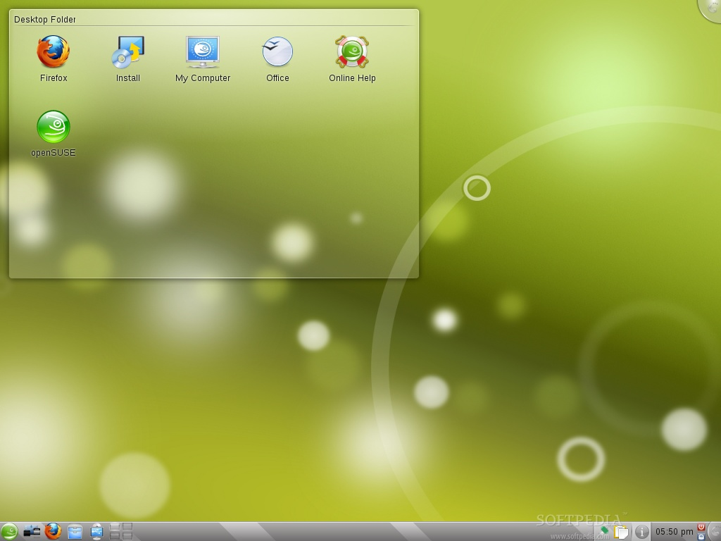 Download openSUSE KDE4 Live CD 13 2