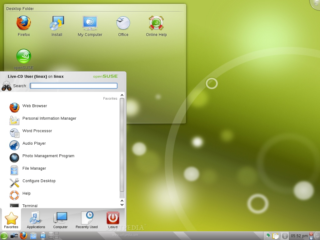 suse linux download manager