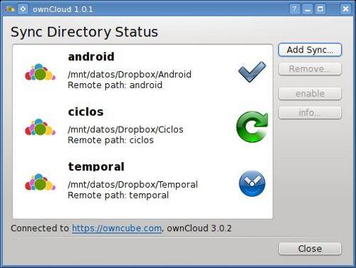 owncloud linux