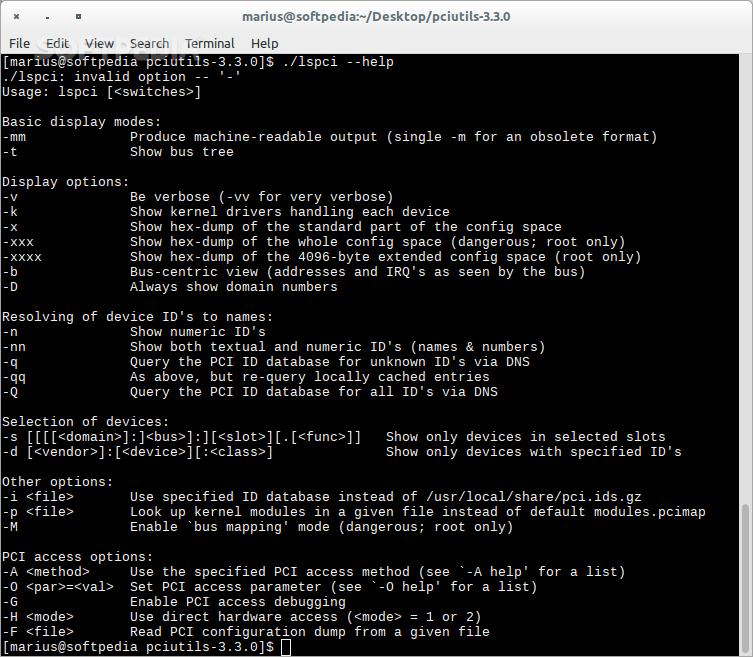 Download pciutils Linux 3 3 0