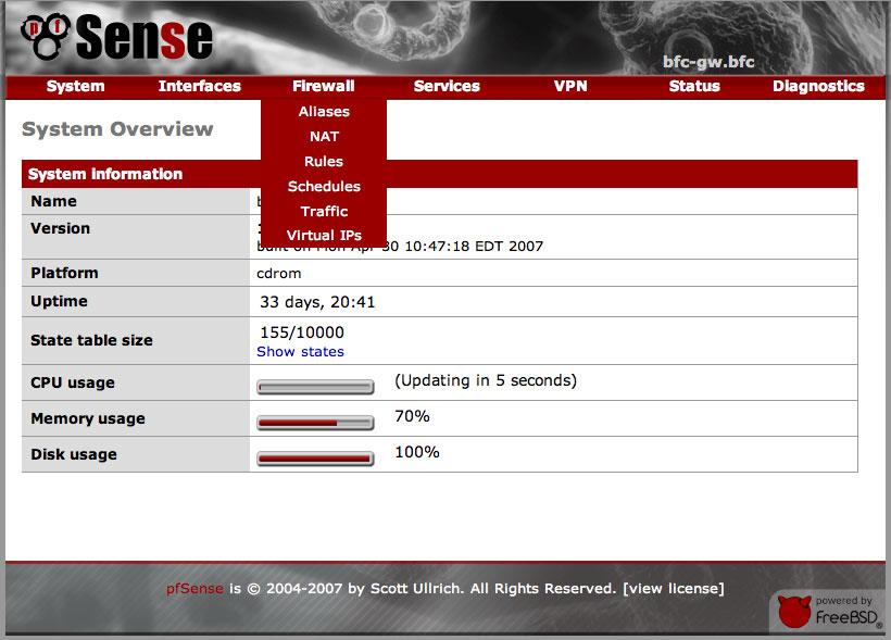 pfsense 2.0.3 iso
