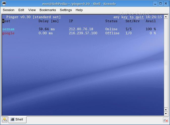 Download pinger Linux 0 32c