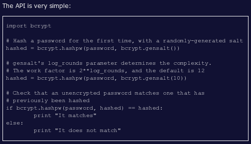 py-bcrypt screenshot 1