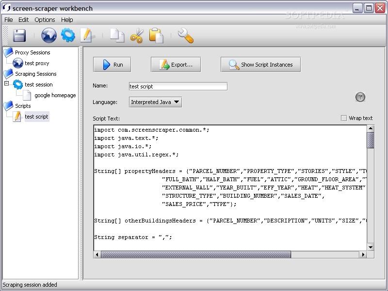 Download screen-scraper Linux 3 0