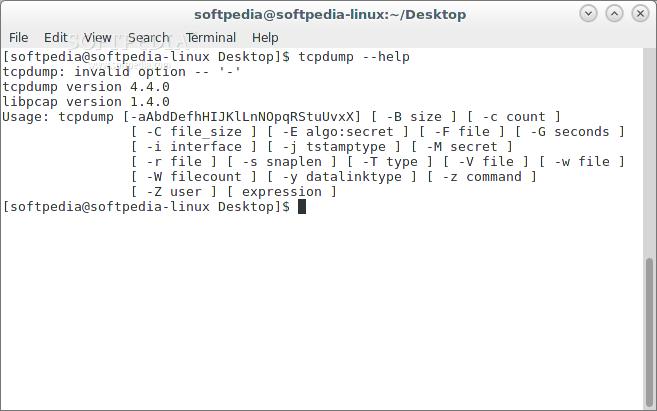 Download tcpdump Linux 4 9 2