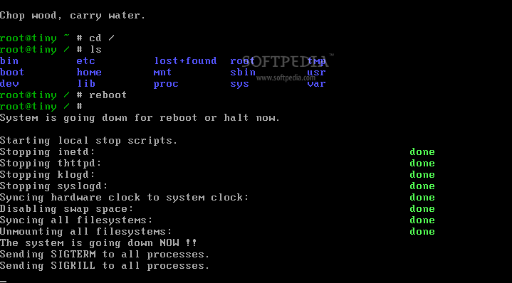 ttylinux screenshot 3