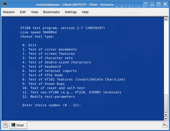 Download vttest Linux 20140305