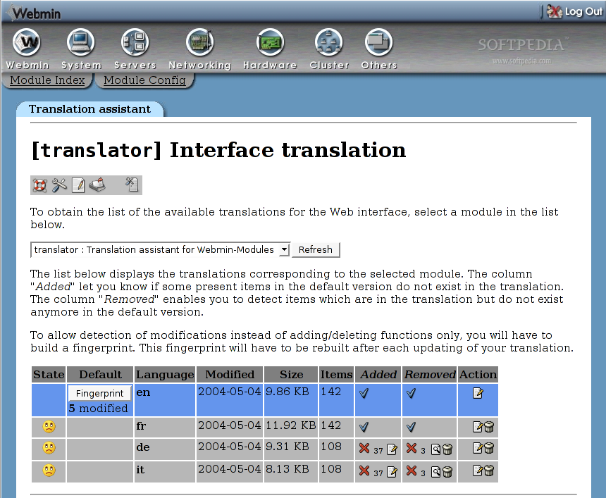 wbmtranslator screenshot 2