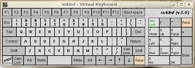 xvkbd screenshot 1
